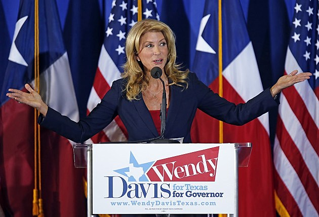 Wendy Davis Announces Her Canidacy For Texas Governor