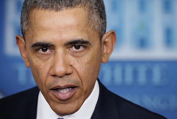 Obama Delivers Statement On The Ukraine At The White House