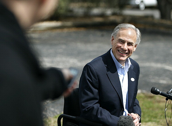 Texas Attorney General Greg Abbott And GOP Gubernatorial Candidate Votes In States Primary