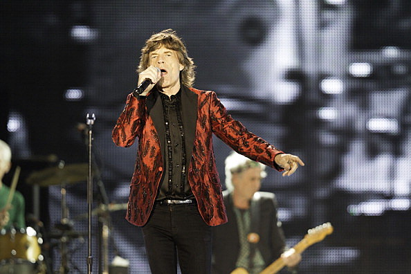The Rolling Stones Perform At The du Arena, Yes Island