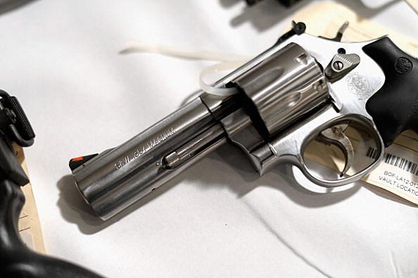 California AG Kamala Harris Holds News Conference On Gun Violence
