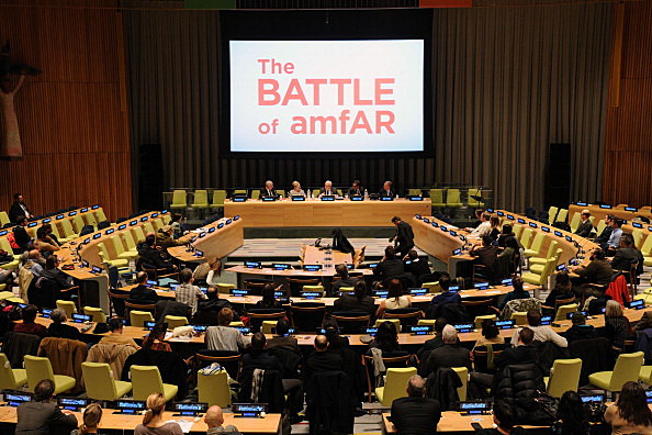 "A Special Screening Of HBO's ""The Battle Of AmfAR"" At The United Nations"