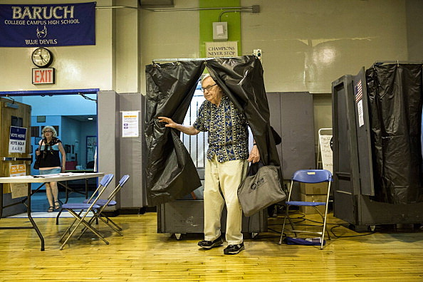 New Yorkers Go To The Polls In Mayoral Primary