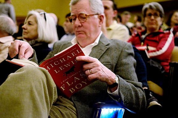 "Michael Lewis Discusses His New Book, ""Flash Boys"""