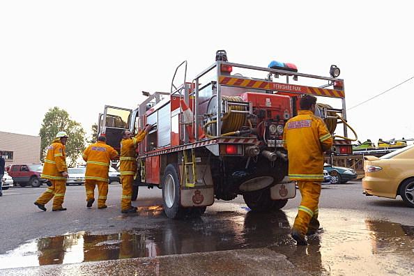 Bushfires Threaten Western Sydney