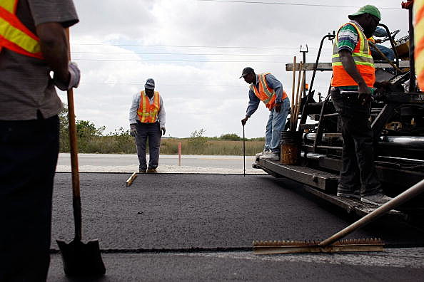 Construction Crews Work On FL Road Projects, As State Eyes Stimulus Relief