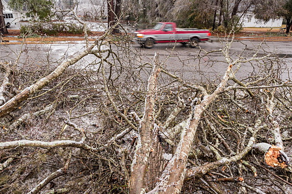 Winter Storm Affects Large Swath Of Southern States