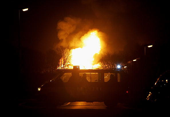 Gas Fire At BP Daughter Ineos